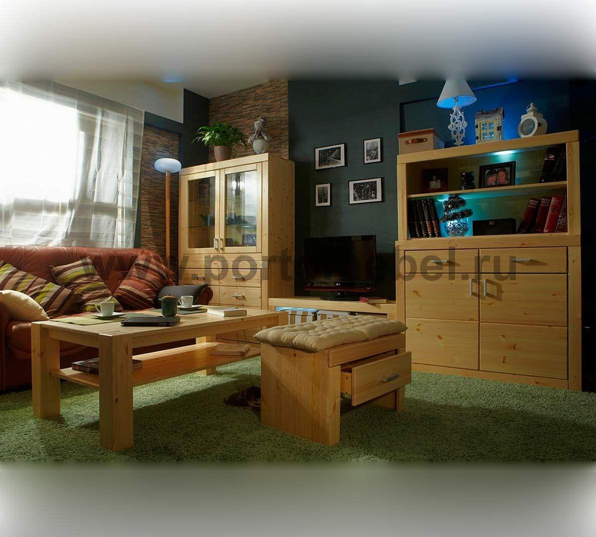 Фото мебель из сосны