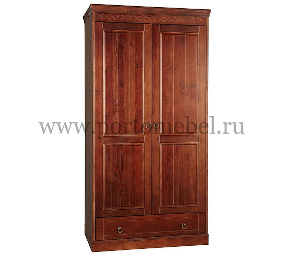 Шкаф распашной timberica дания шкаф 2-створчатый.